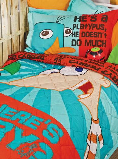 Disney Σετ κουβερλί Phineas and Ferb pals1310806509 παιδικά   εφηβικά   κουβερλί  κουβρ λι