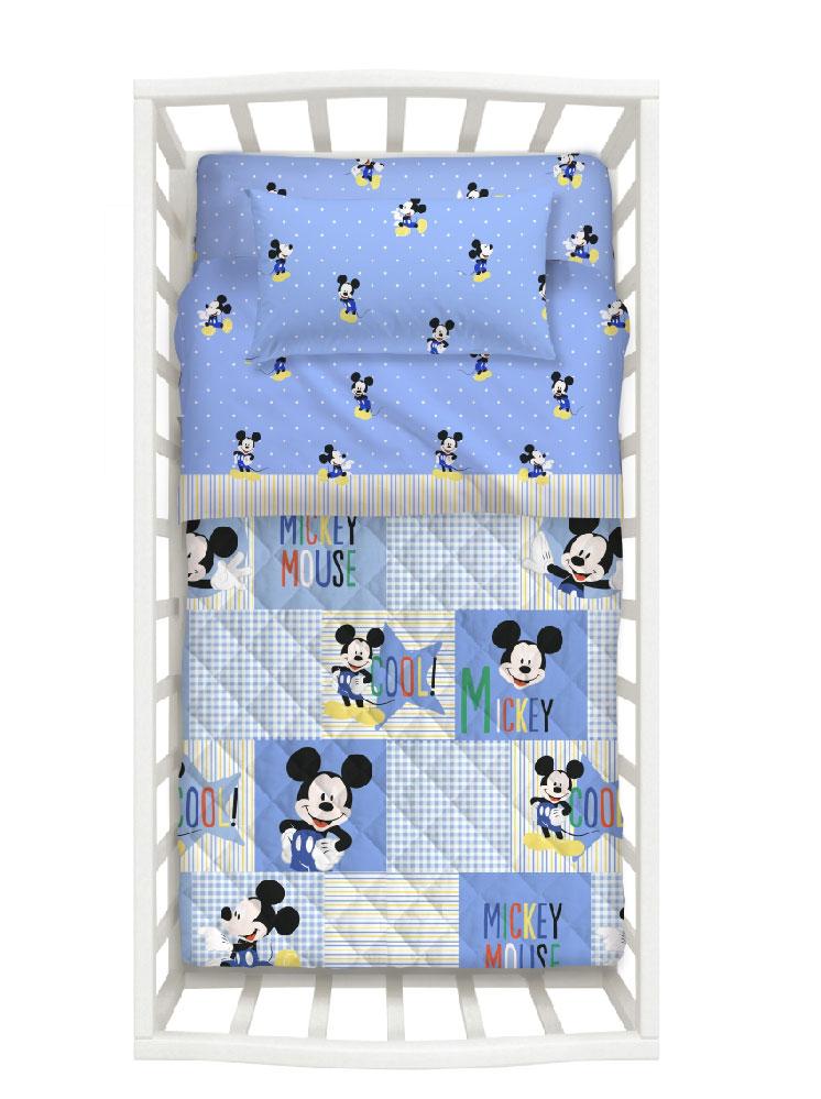 Disney Σετ Κρεβατιού Mickey 5τμχ 8000842630634