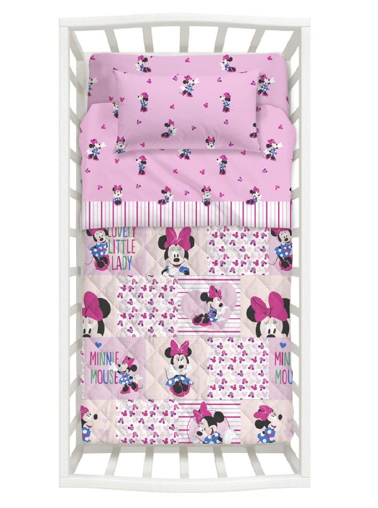 Disney Σετ Κρεβατιού Minnie 5τμχ 8000842627047