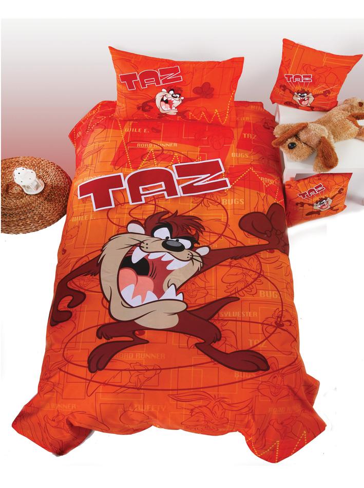 Looney Tunes Σετ μονό κουβρ λι Taz vios16784