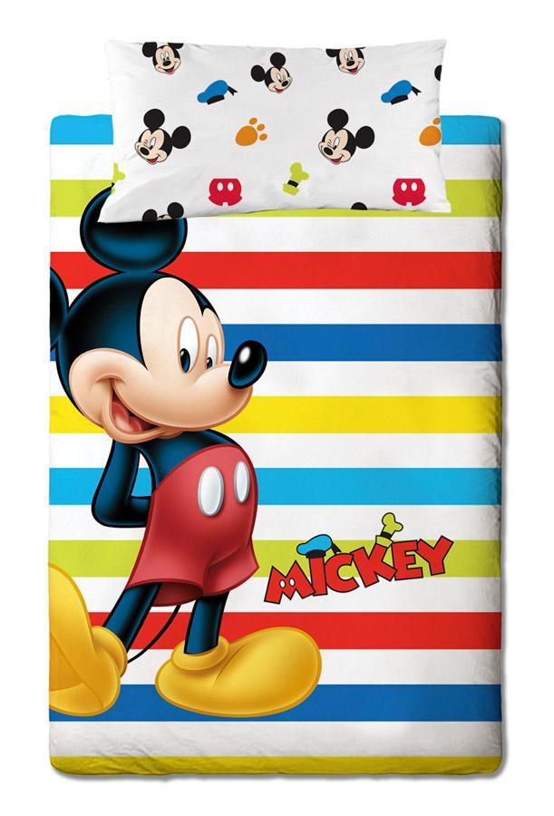 Disney Σετ παπλωματοθήκη μονή Mickey Colors palw14343