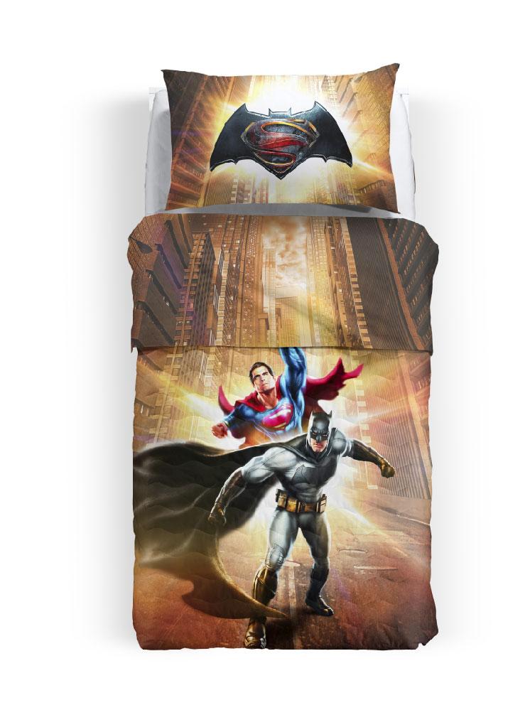 Batman Σετ Σεντόνια Μονά Batman Superman 8000842628907 παιδικά   εφηβικά   σεντόνια