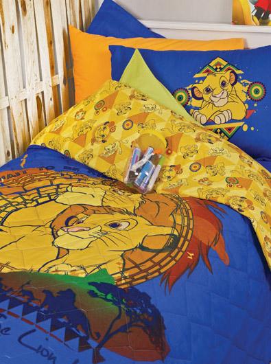 Disney Σετ σεντονιών μονό The Lion King pals1310606104