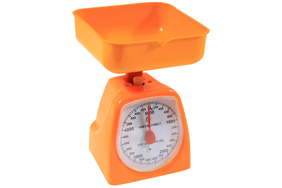 Keskor - Ζυγαριά κουζίνας 5 κιλών με κάδο χρ. πορτοκαλί KG005 - - - - 0202005-4 είδη σπιτιού   εξοπλισμός σπιτιού   ζυγαριές   θερμόμετρα