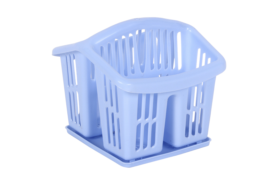 Keskor - Κουταλοθήκη πλαστική με δίσκο χρ. μπλε - - - - 025177-1