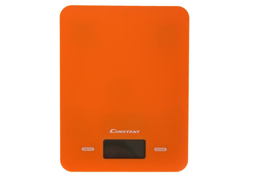 Keskor - Ζυγαριά κουζίνας ηλεκτρονική 5 κιλών 17Χ22 εκ. χρ. πορτοκαλί - HL294 -  είδη σπιτιού   εξοπλισμός σπιτιού   ζυγαριές   θερμόμετρα