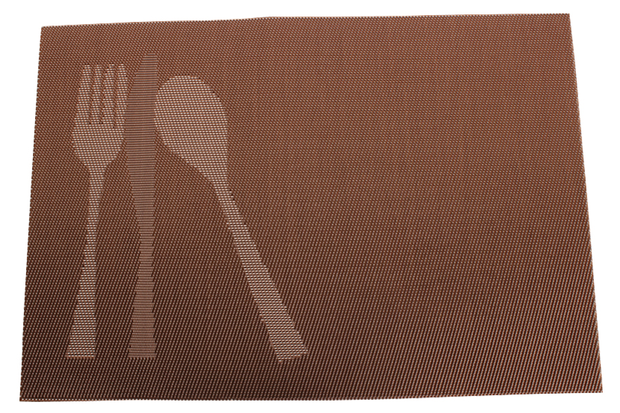Keskor - Σουπλά 45Χ30 εκ. σχ. ΚΟΥΤΑΛΟΠΙΡΟΥΝΑ χρ. καφέ - - - - 540081-1