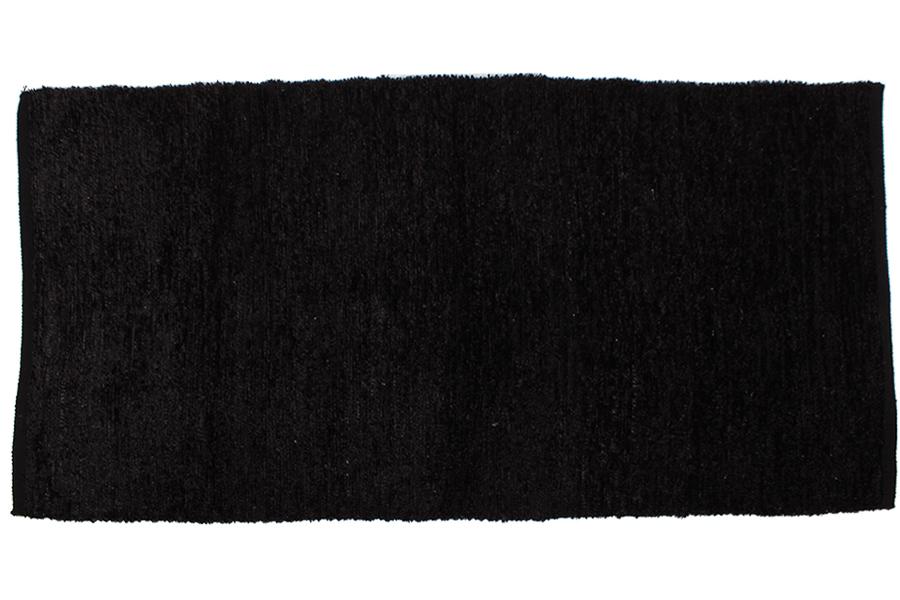 Keskor Χαλί 120Χ60 εκ. πολυεστέρα χρ. μαύρο 160181-1