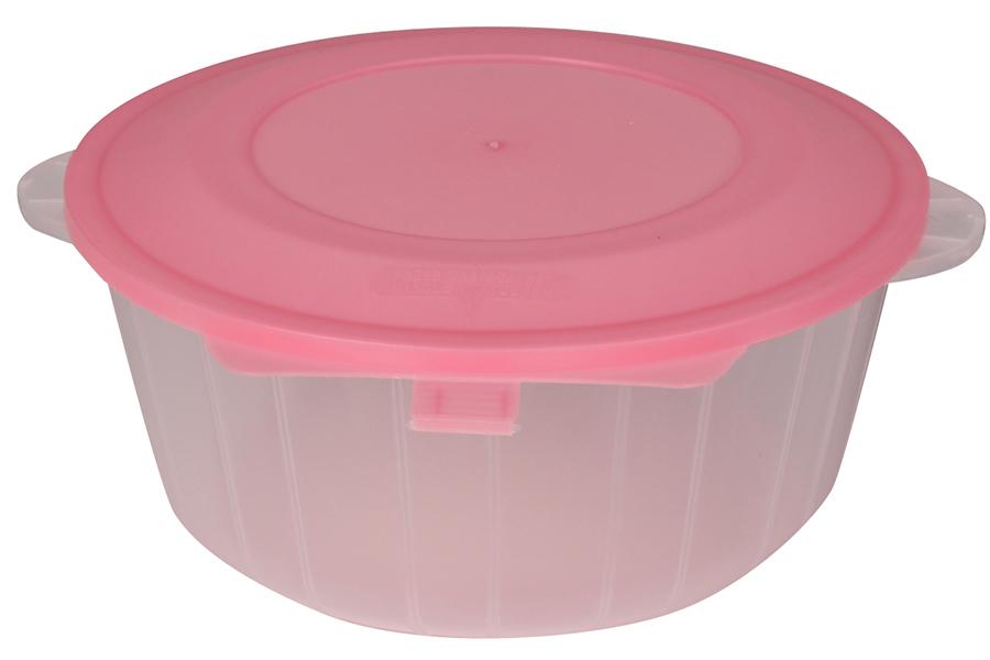 Keskor - Δοχείο φαγητού πλαστικό τεμ. 1 Φ16Χ7,5 εκ. χρ. ροζ - - - - 55822-1