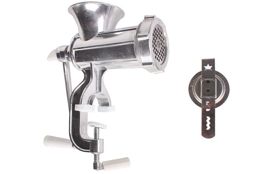 Keskor - Κρεατομηχανή - μηχανή για κιμά και κουλούρια Ν10 αλουμινίου χρ. ασημί - είδη σπιτιού   κουζίνα   κουζινικά εργαλεία   σκεύη