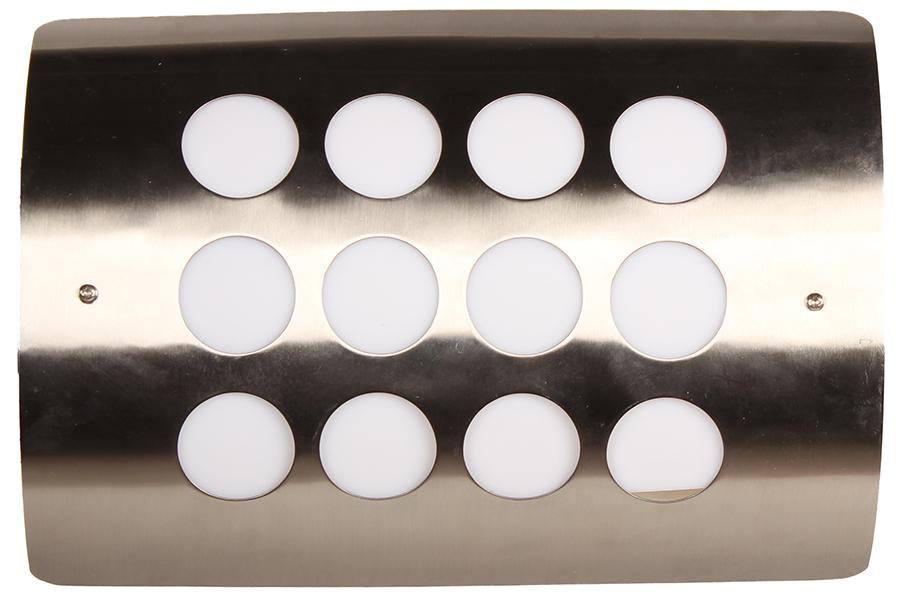 Keskor Απλίκα εξωτερικού χώρου ΙΝΟΧ με πλαστικό 30Χ20,5Χ9,5 εκ. 616311