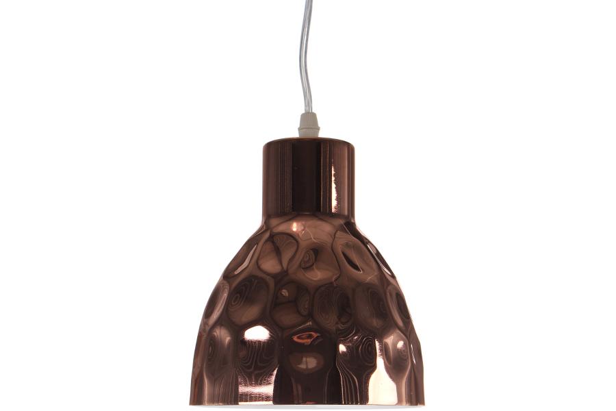Keskor - Φωτιστικό μονόφωτο μεταλλικό σφυρήλατο Ε27 Φ15Χ17 εκ. χρ. Χαλκός - HL20 είδη σπιτιού   πορτατίφ   φωτιστικά