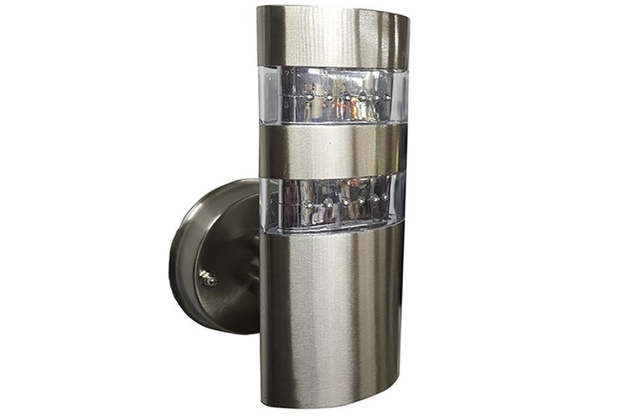 Keskor Απλίκα φανάρι εξωτερικού χώρου ανοξείδωτη 24 Χ LED 10Χ12Χ22,5 εκ. - HL1003 101003-220