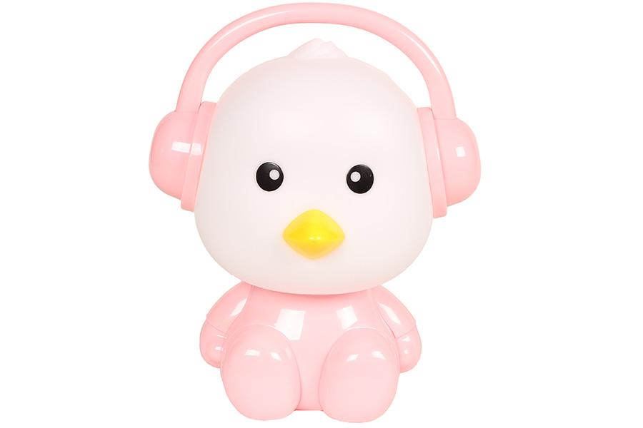 Keskor - Πορτατίφ παιδικό Ε14 Πουλάκι με ακουστικά ροζ 884990-3 - - - - 884990-3 είδη σπιτιού   πορτατίφ   φωτιστικά
