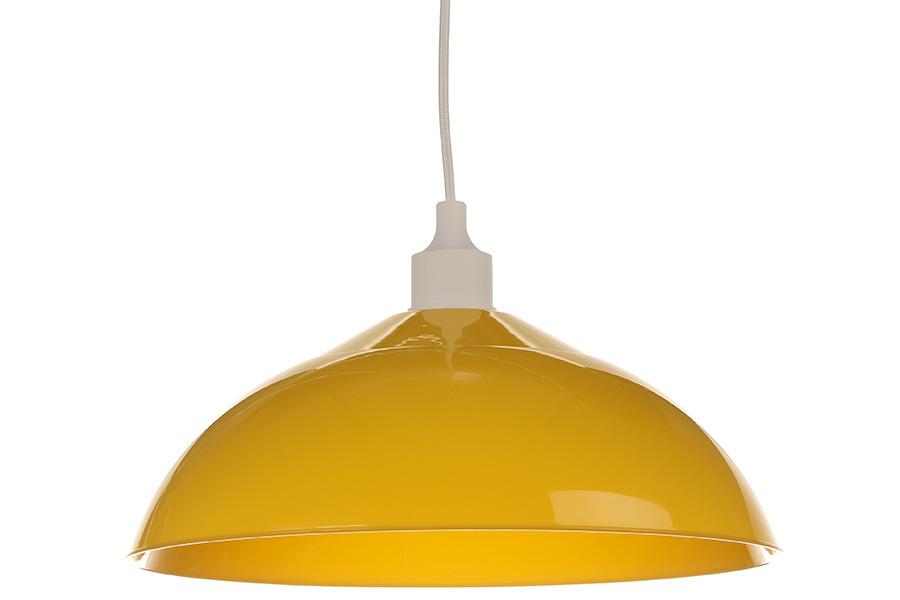 Keskor - Φωτιστικό μονόφωτο πλαστικό Ε27 Φ34Χ18 εκ. κίτρινο 880039-1 - - - - 880 είδη σπιτιού   πορτατίφ   φωτιστικά