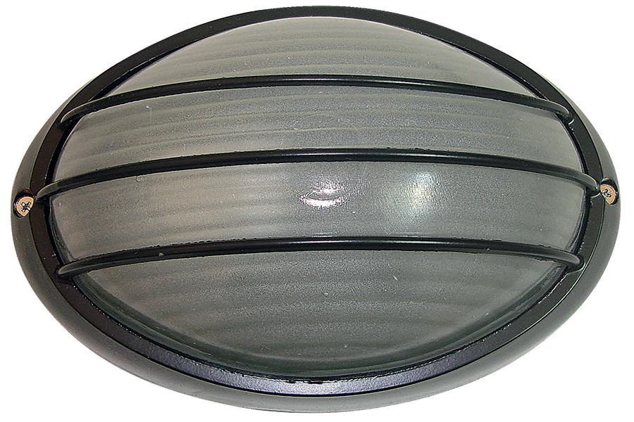 Keskor Απλίκα χελώνα εξωτερικού χώρου αλουμινίου με γυαλί 21Χ15 εκ. χρ. μαύρο 6601-2