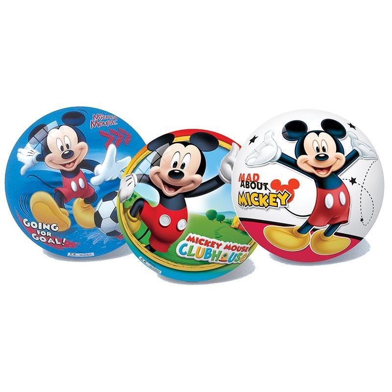 Next Star μπάλα πλαστική Mickey 23εκ σε 3 σχέδια 12750---43-2 παιχνίδια   μπάλες   αερόμπαλες