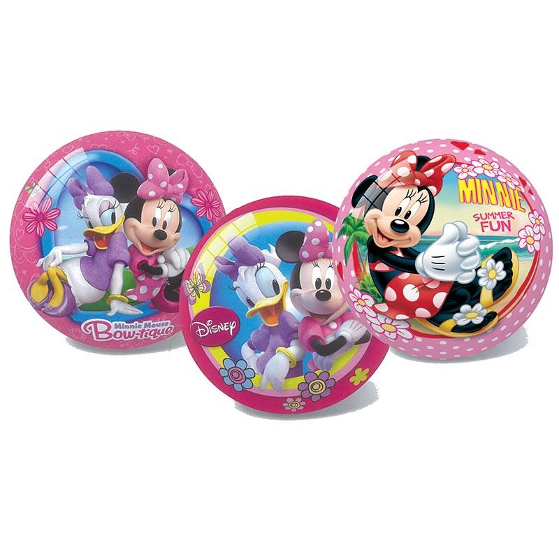 Next - Star μπάλα πλαστική Minnie 23εκ σε 3 σχέδια - - - - 12751---43-2 παιχνίδια   μπάλες   αερόμπαλες