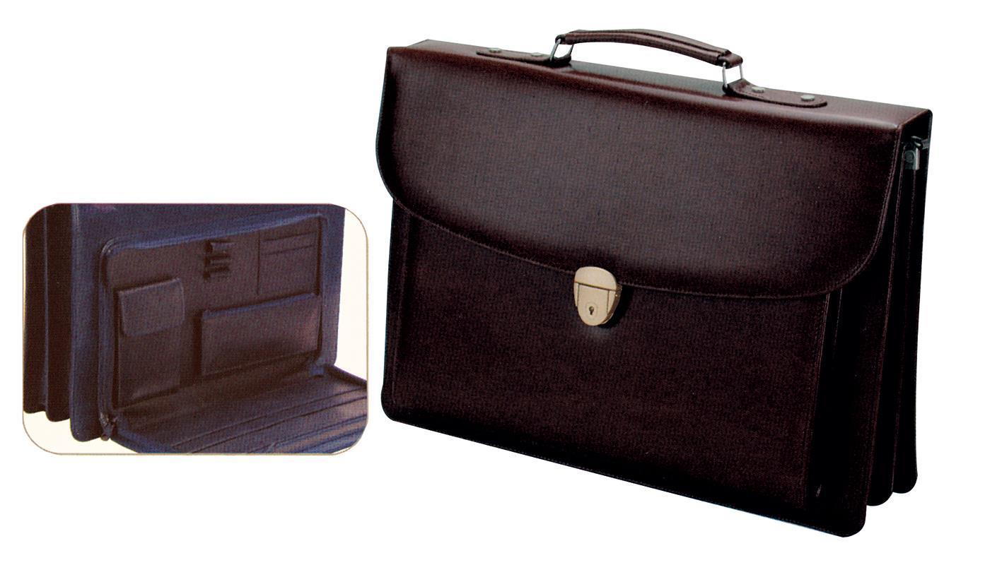 Fineline Fineline τσάντα επαγγελματική με ιμάντα μαύρη 42x30x9εκ. 19093---ΑΜ-2