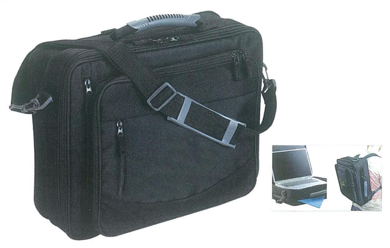Next - Τσάντα με θήκες για laptop μαύρη 44x32x16εκ. - - - - 19961---ΑΙ-2 είδη γραφείου   αναλώσιμα   αξεσουάρ η υ   τσάντες θήκες laptop tablet κινητών
