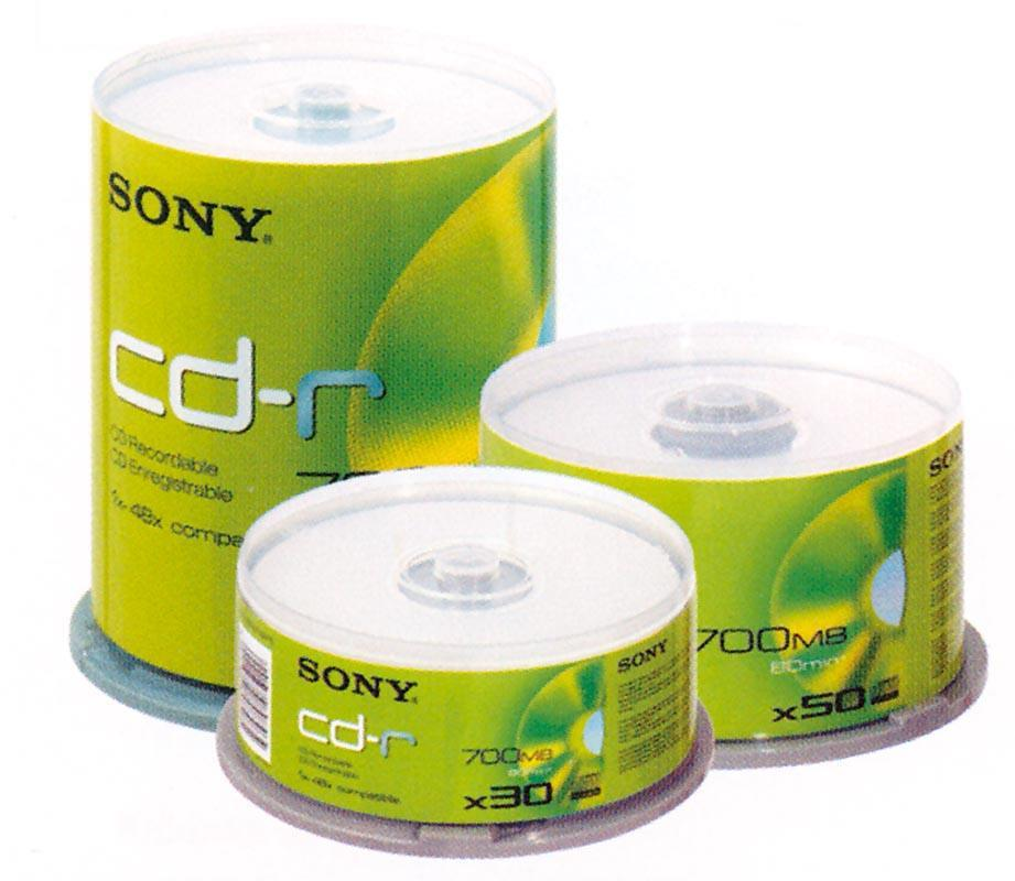 Next Sony Data CDR-700MB 80min cake box 25τεμ. 20408---15-2