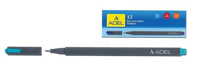 Adel Adel μαρκαδόρος fineliner 0.4mm γαλάζιος 21764-15---2