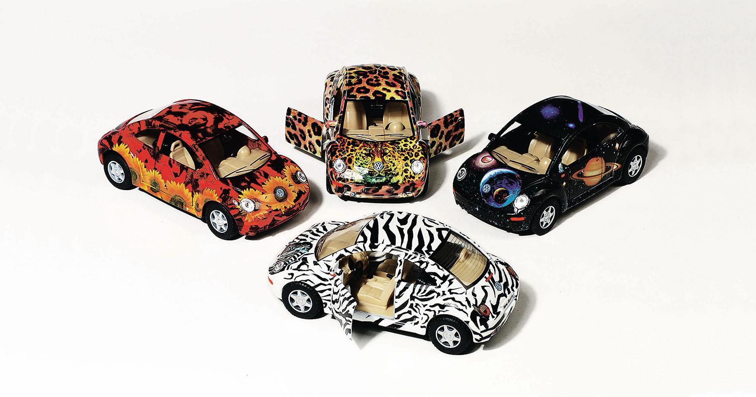 Goki Goki αυτοκινητάκια μεταλλικά 12,7εκ. σε 4 χρώματα 23727---ΒΠ-2
