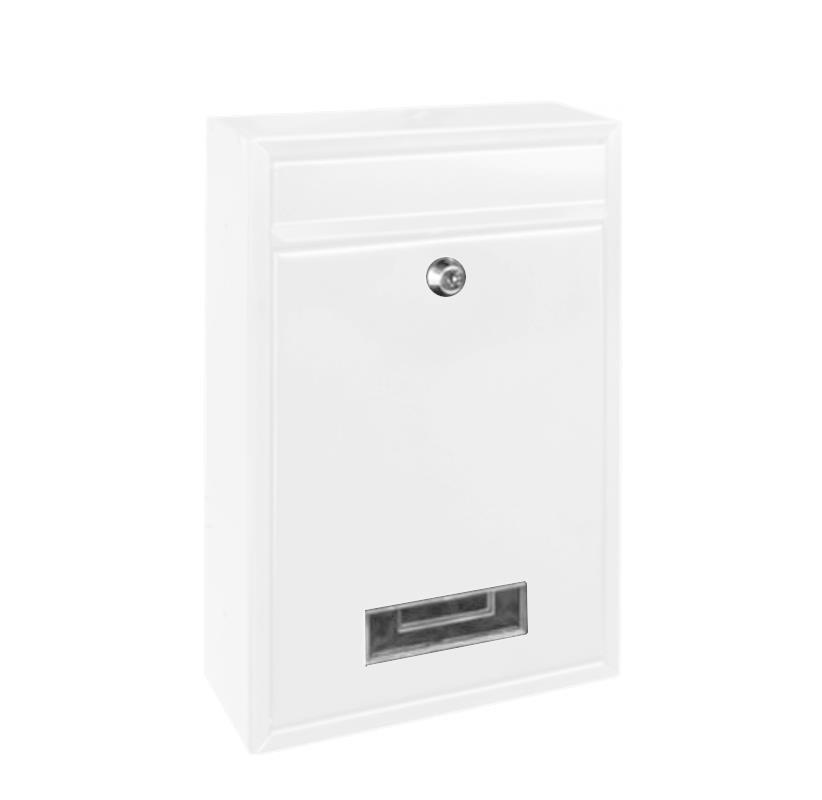 Rottner Comsafe γραμματοκιβώτιο Travis άσπρο Υ32x21.5x9εκ. 24410-00ΒΜ-2
