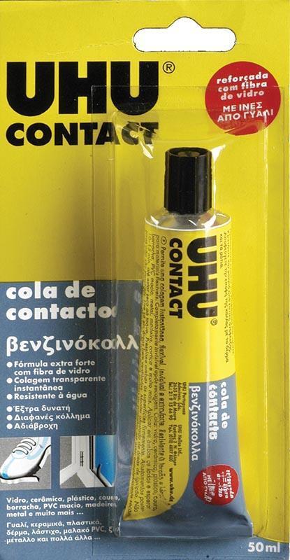 Uhu Uhu βενζινόκολλα Contact glass fibre 50ml. 26035---ΓΖ-2