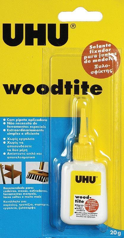 Uhu Uhu Woodtite-Ξυλοσφίχτης 18ml 26039---ΓΖ-2