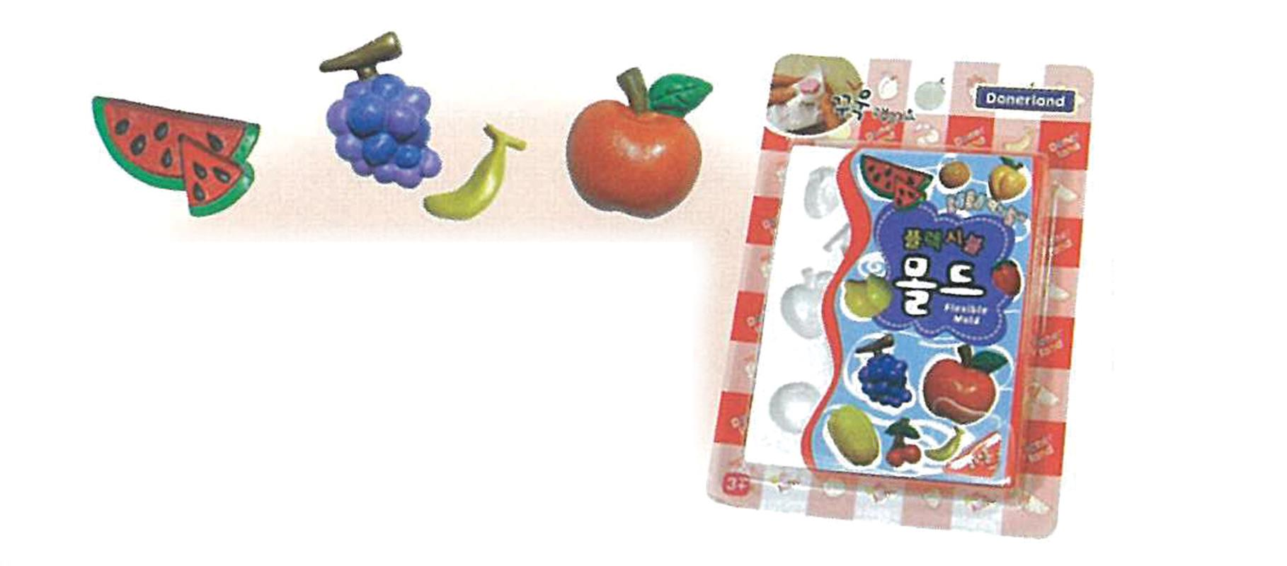 Donerland Φόρμα σιλικόνης Φρούτα με 10 θήκες 30.5x14.5x12.5εκ. 28312---ΔΑ-2
