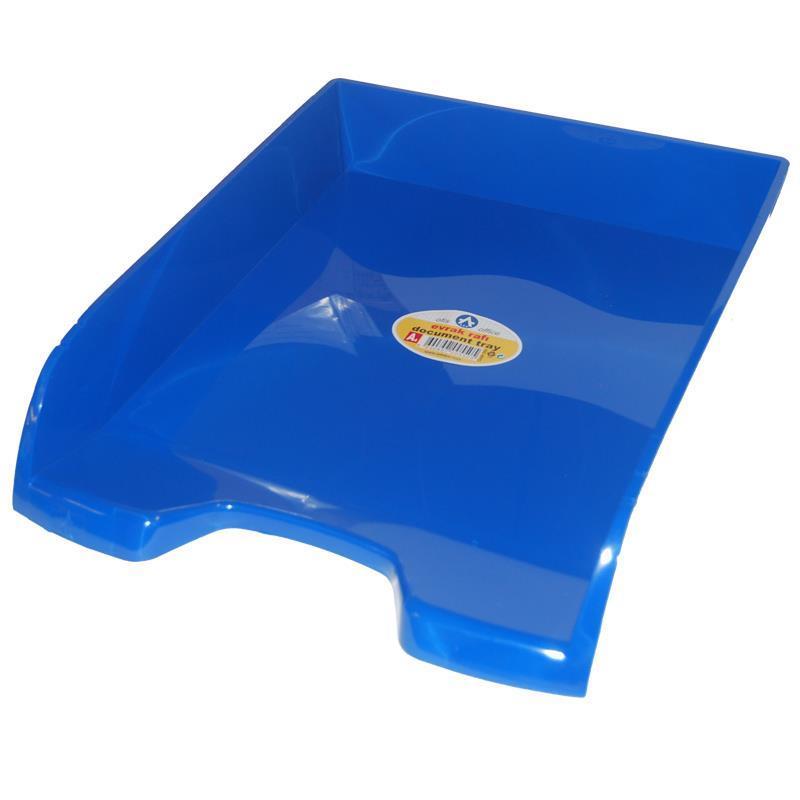 Ark Ark δίσκος εγγράφων μπλε Α4 Υ26.5x34.5x6.5εκ. 29018-03---2