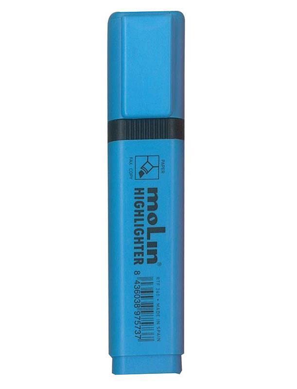 Molin Molin μαρκαδόρος φωσφορούχος γαλάζιο υπογράμμισης 2-5mm 29830-21ΕΔ-2