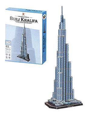 Charmland Charmland παζλ 3D Burj Khalifa Υ66x25x22εκ. 63 τεμαχίων 31224---ΖΠ-2