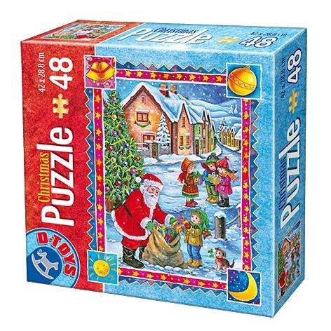 D-Toys Παζλ Χριστούγεννα 48 κομμ 67623CH01 Π.623.23CH01