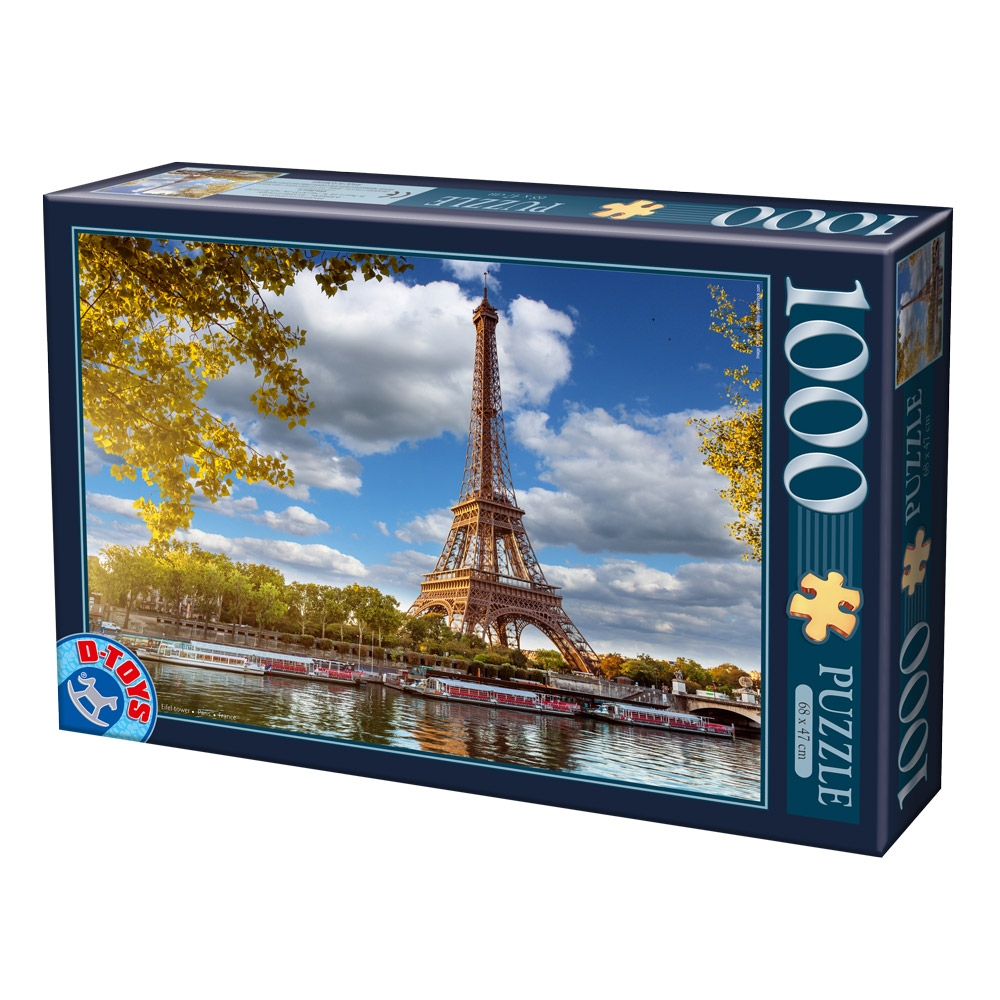 D-Toys PUZZLE 1000 ΤΜΧ 64288FP12 ΡΟΥΜΑΝΙΑΣ Π.221.88FP12