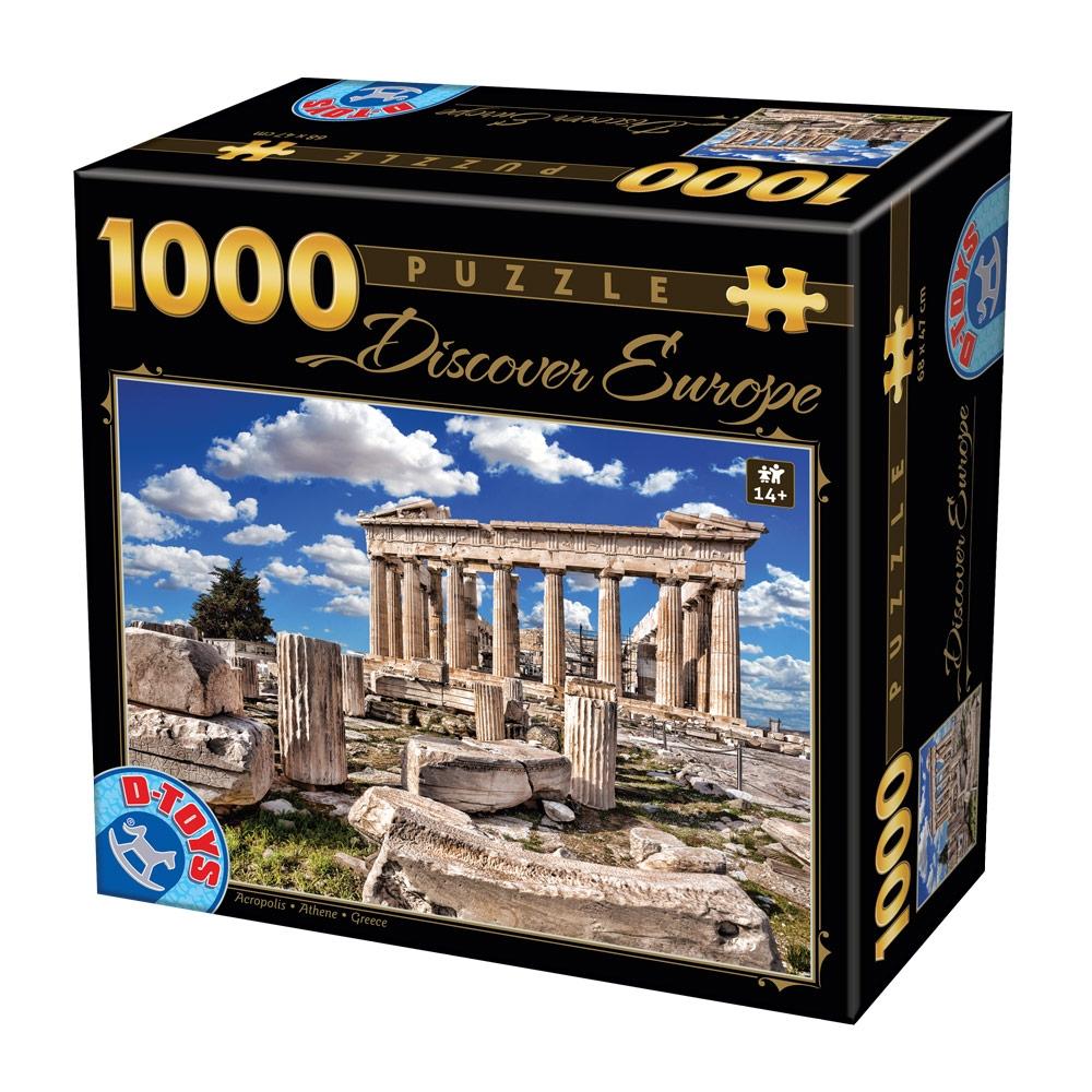 D-Toys - PUZZLE D-Toys 1000 ΤΜΧ 65995DE05 ΡΟΥΜΑΝΙΑΣ - - - - Π.221.95DE05