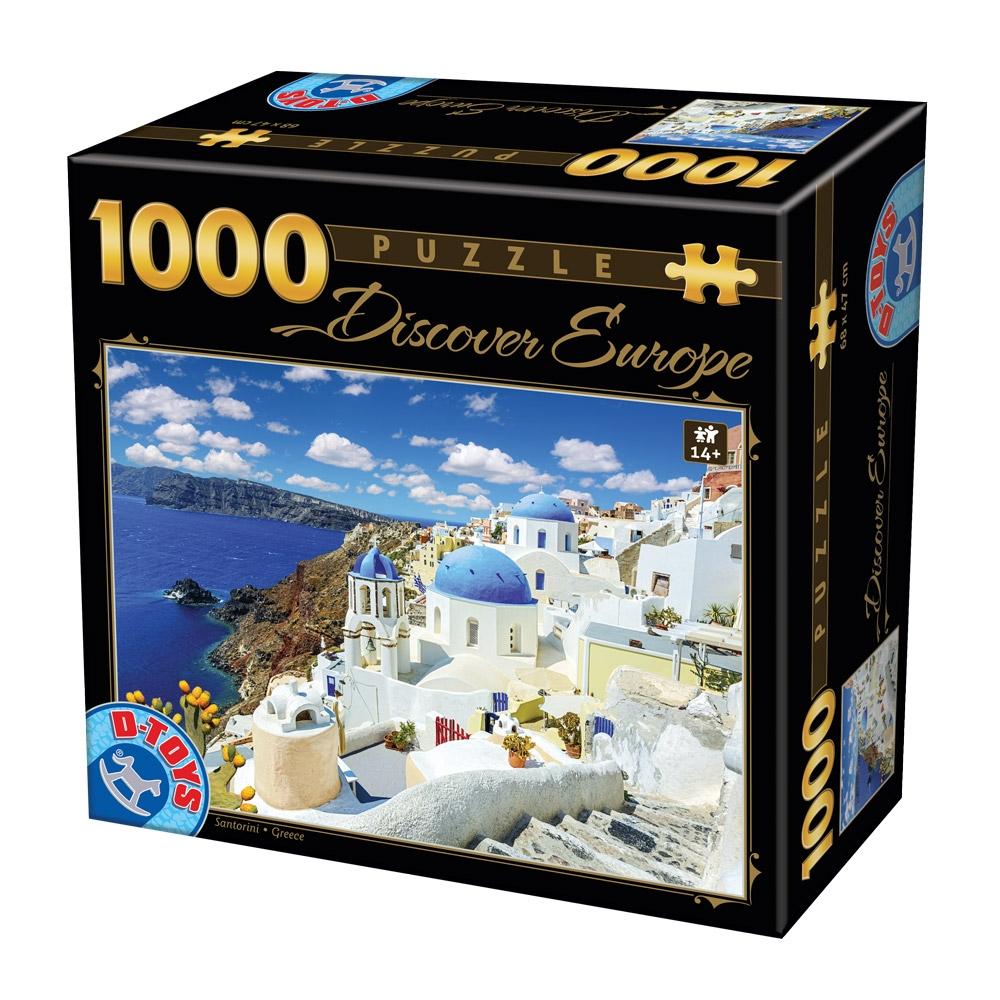 D-Toys PUZZLE 1000 ΤΜΧ 65995DE06 ΡΟΥΜΑΝΙΑΣ Π.221.95DE06