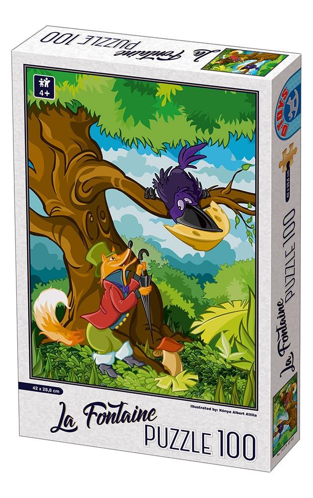 D-Toys - SUPER PUZZLE 100 ΤΜΧ 74379LF01 ΡΟΥΜΑΝΙΑΣ - - - - Π.209.79LF01 παιχνίδια   πάζλ