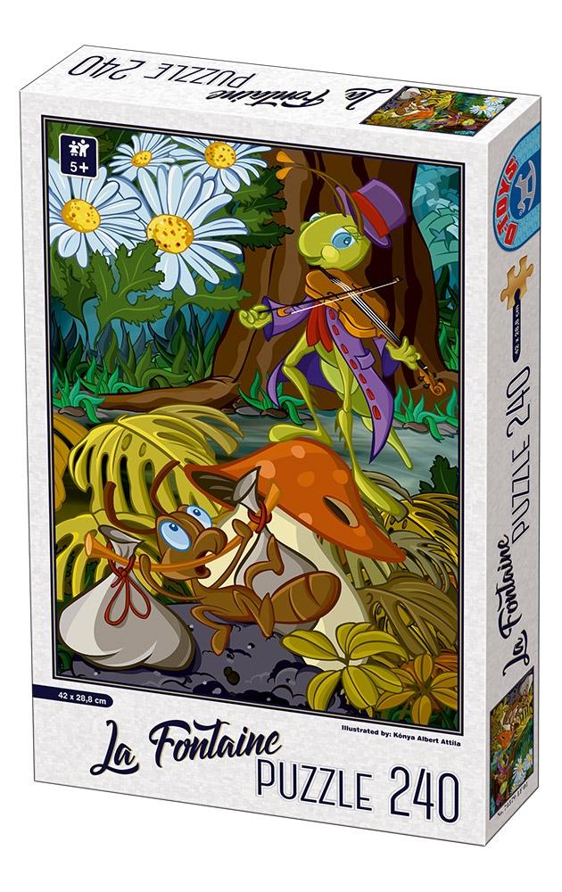D-Toys - SUPER PUZZLE 240 ΤΜΧ 74386LF02 ΡΟΥΜΑΝΙΑΣ - - - - Π.211.86LF02 παιχνίδια   πάζλ