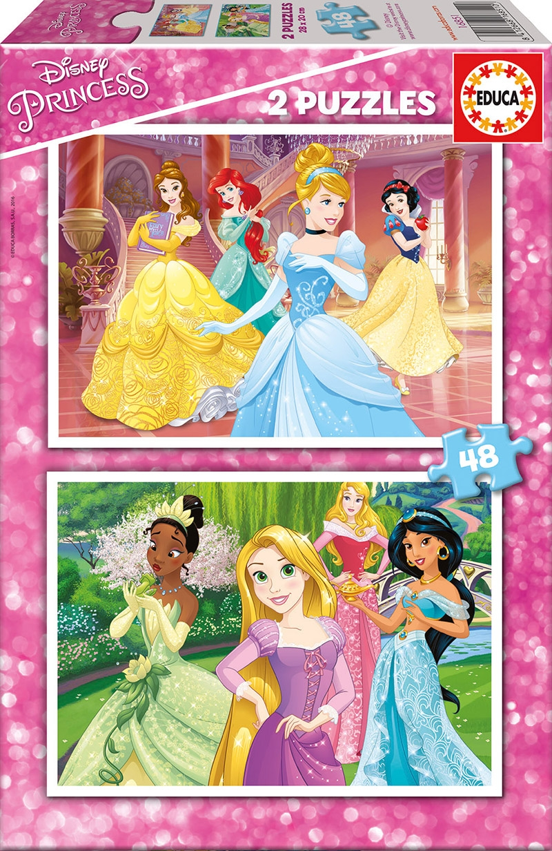 Educa Παζλ 2X48 DISNEY PRINCESS 16851 8412668168510